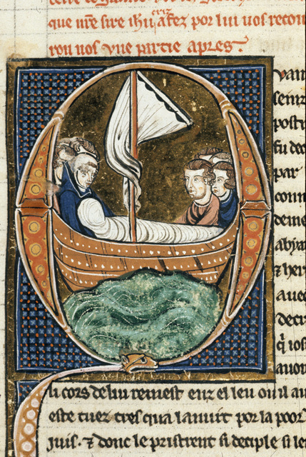 James the Great from BL Royal 20 D VI, f. 20