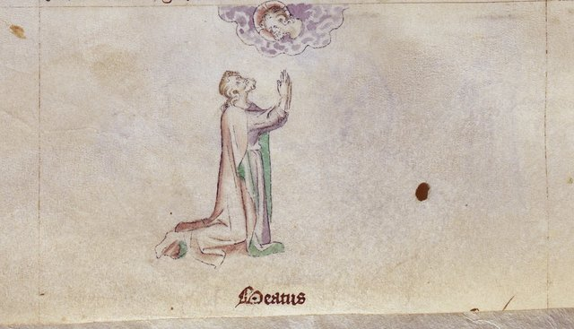 James the Less from BL Royal 2 B VII, f. 248v