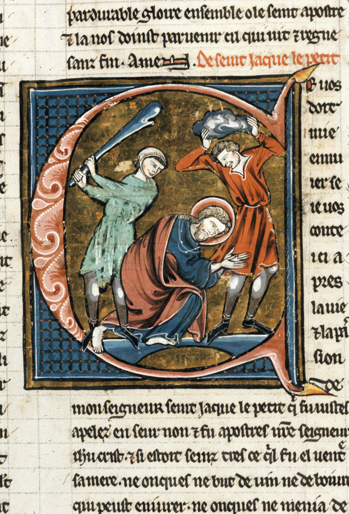 James the Less from BL Royal 20 D VI, f. 41