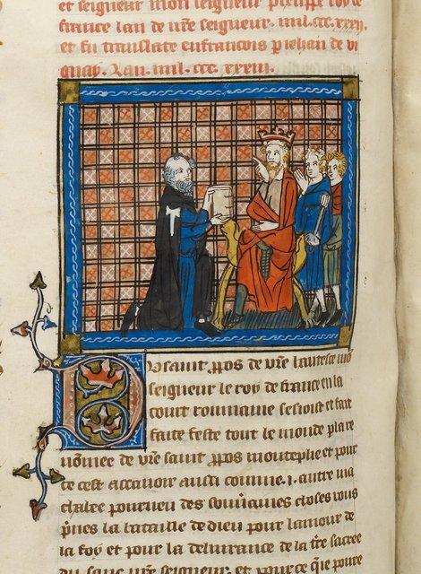 Jean de Vignay from BL Royal 19 D I, f. 165v