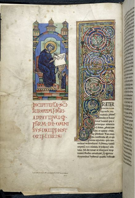 Jerome from BL Harley 2803, f. 1