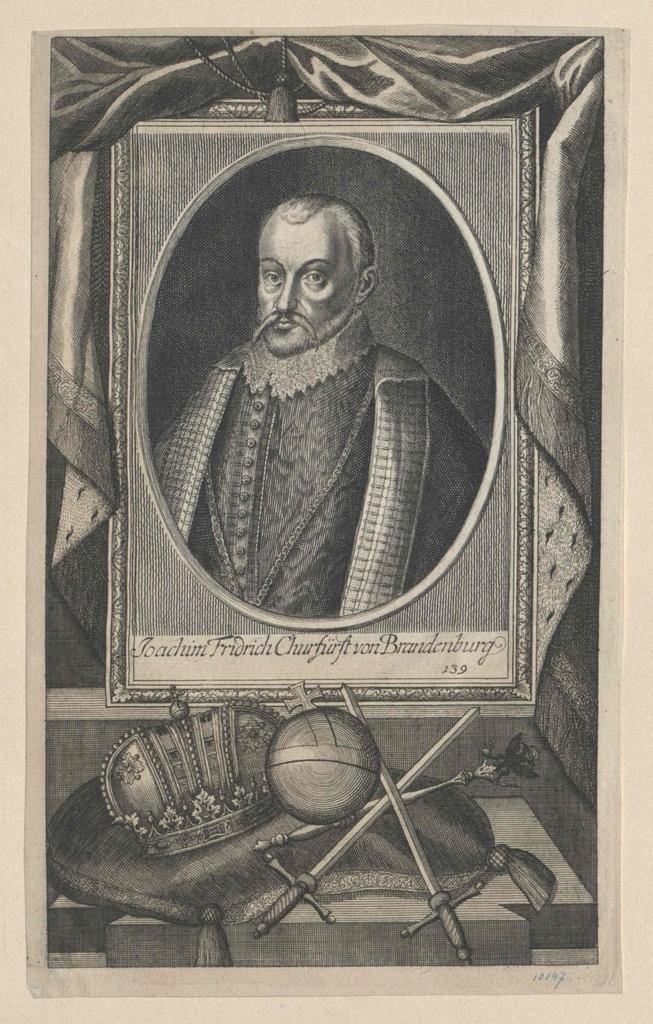 Joachim Friedrich, Kurfürst von Brandenburg
