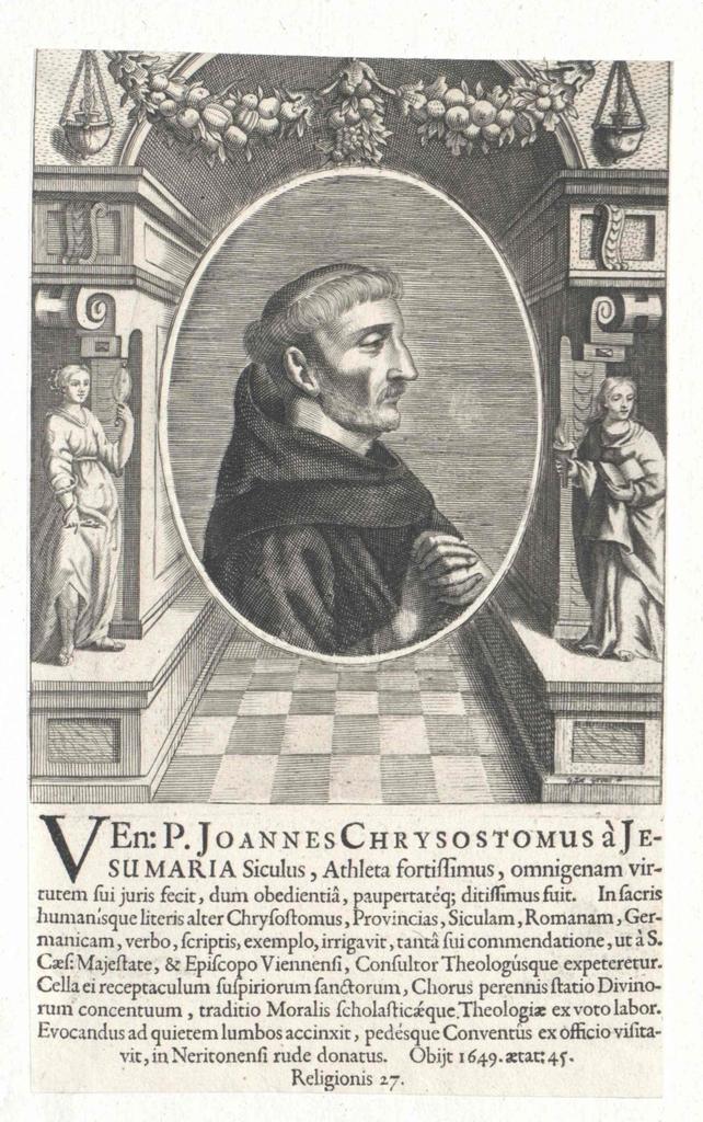 Joannes Chrysostomus a Jesu Maria