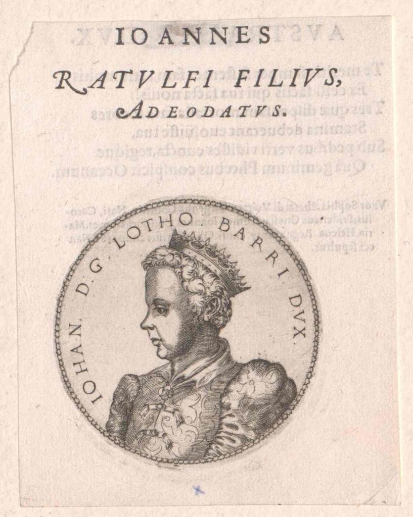 Johann I., Herzog von Lothringen