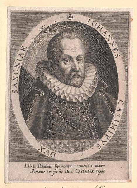 Johann Kasimir, Herzog von Sachsen