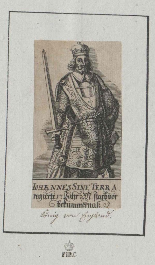 Johann ohne Land, König von England