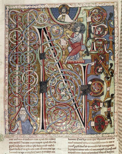 John from BL Harley 2799, f. 185v