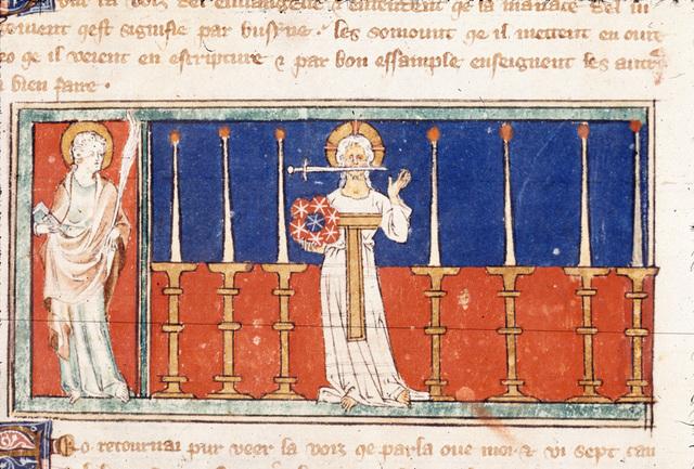 John from BL Royal 19 B XV, f. 2