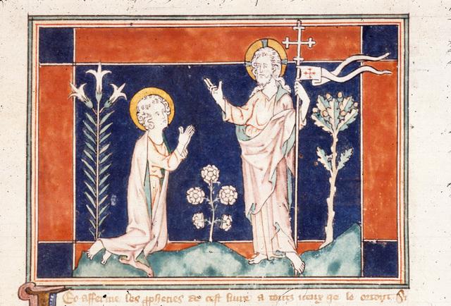 John from BL Royal 19 B XV, f. 45