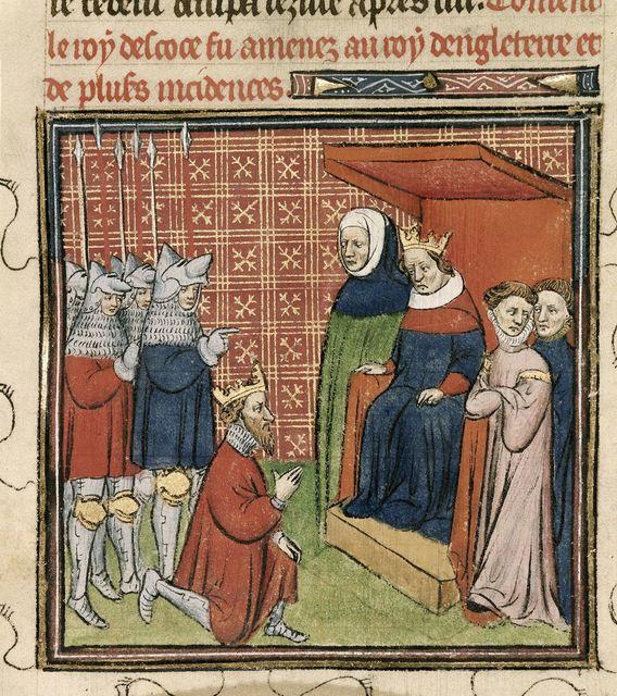 John, king of Scotland from BL Royal 20 C VII, f. 28