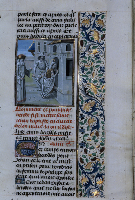John the Baptist from BL Royal 15 D I, f. 267