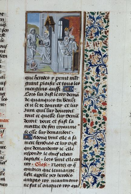 John the Baptist from BL Royal 15 D I, f. 297