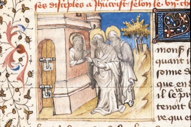John the Baptist from BL Royal 20 B IV, f. 65
