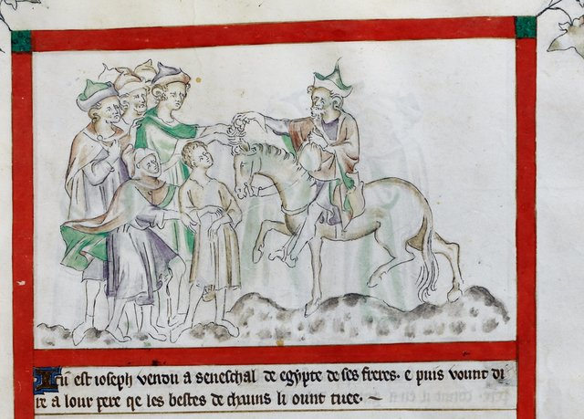 Joseph from BL Royal 2 B VII, f. 15