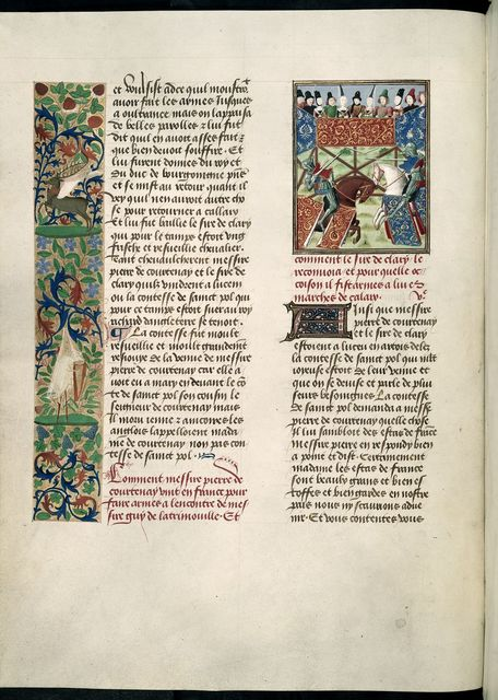 Joust from BL Harley 4379, f. 19v