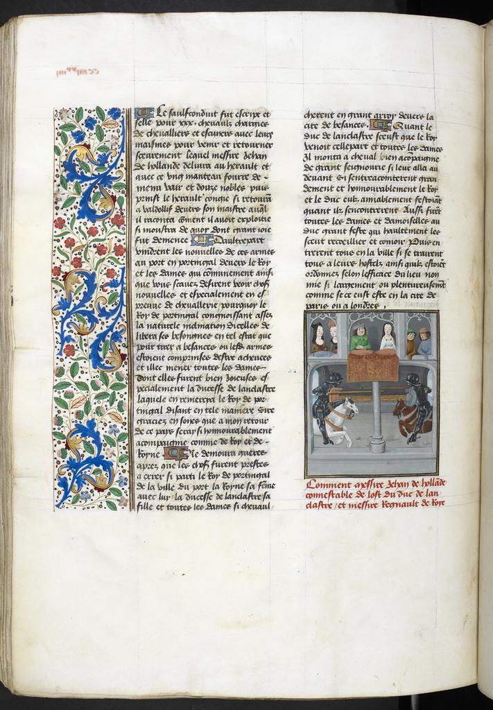 Joust from BL Royal 14 E IV, f. 293v