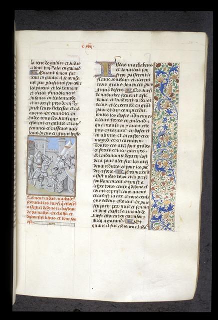 Judas Maccabeus from BL Royal 15 D I, f. 134