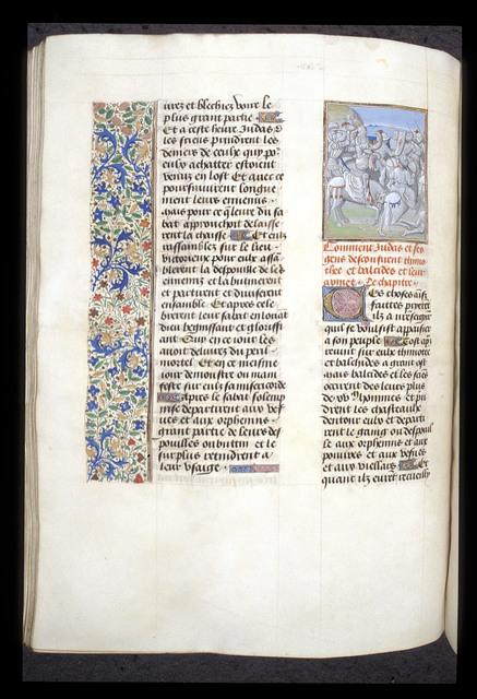 Judas Maccabeus from BL Royal 15 D I, f. 182v
