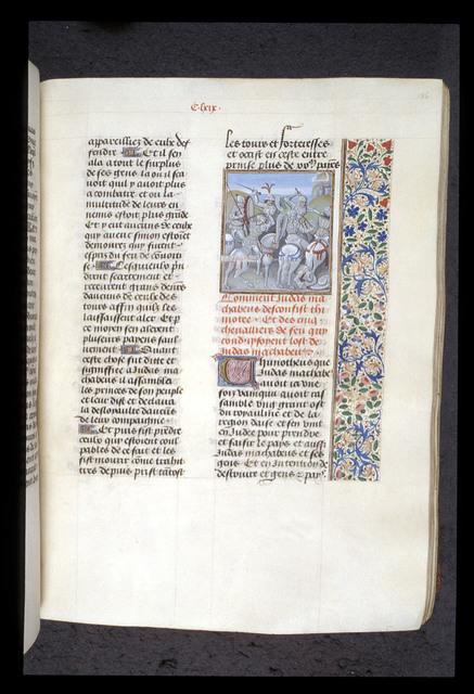 Judas Maccabeus from BL Royal 15 D I, f. 186