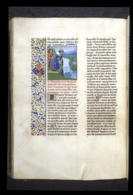 Jugurtha from BL Royal 14 E V, f. 287v