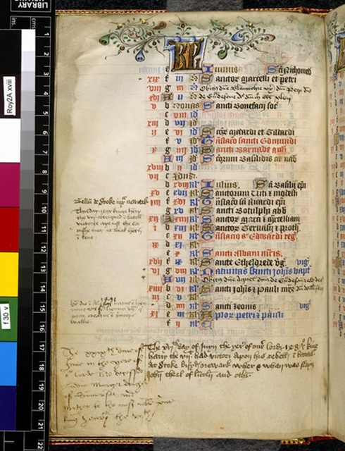 June from BL Royal 2 A XVIII, f. 30v