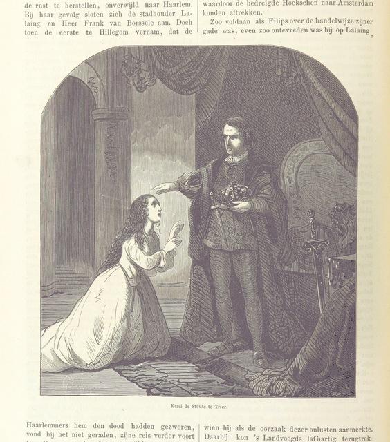 """Karel de Stoute te Trier from """"Geschiedenis der zeventien Nederlanden"""""""