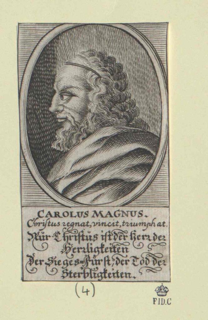 Karl I., der Große, römischer Kaiser