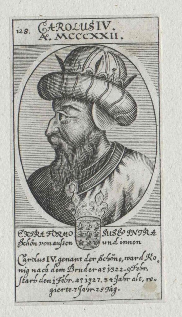 Karl IV. der Schöne, König von Frankreich