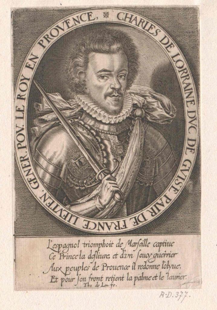 Karl von Lothringen, Herzog von Guise