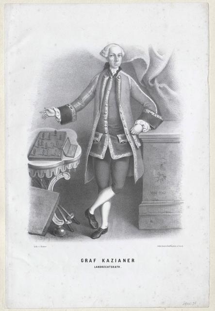 Kazianer zu Katzenstein, Josef Graf von