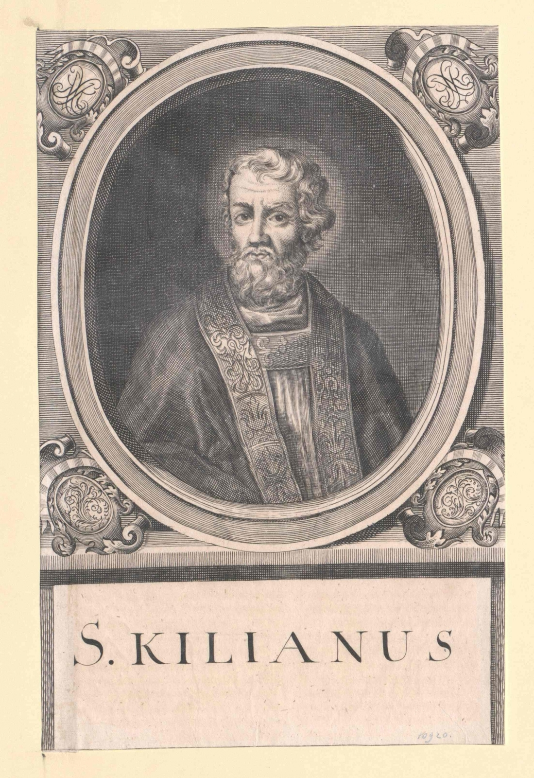 Kilian von Würzburg, Heilige