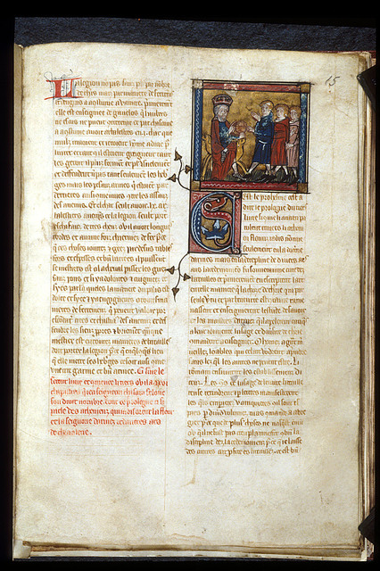 King from BL Royal 20 B I, f. 15