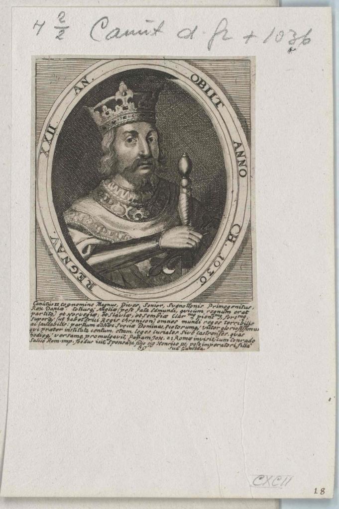 Knut, der Große König von Dänemark