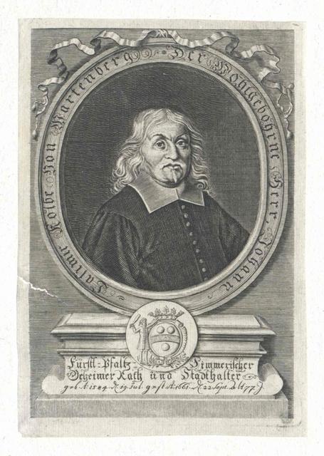 Kolbe von Wartenberg, Johann Kasimir