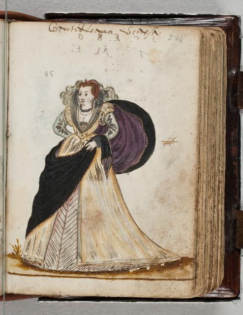 Kostuumafbeelding in het album / van Bernardus Paludanus (1550-1633)