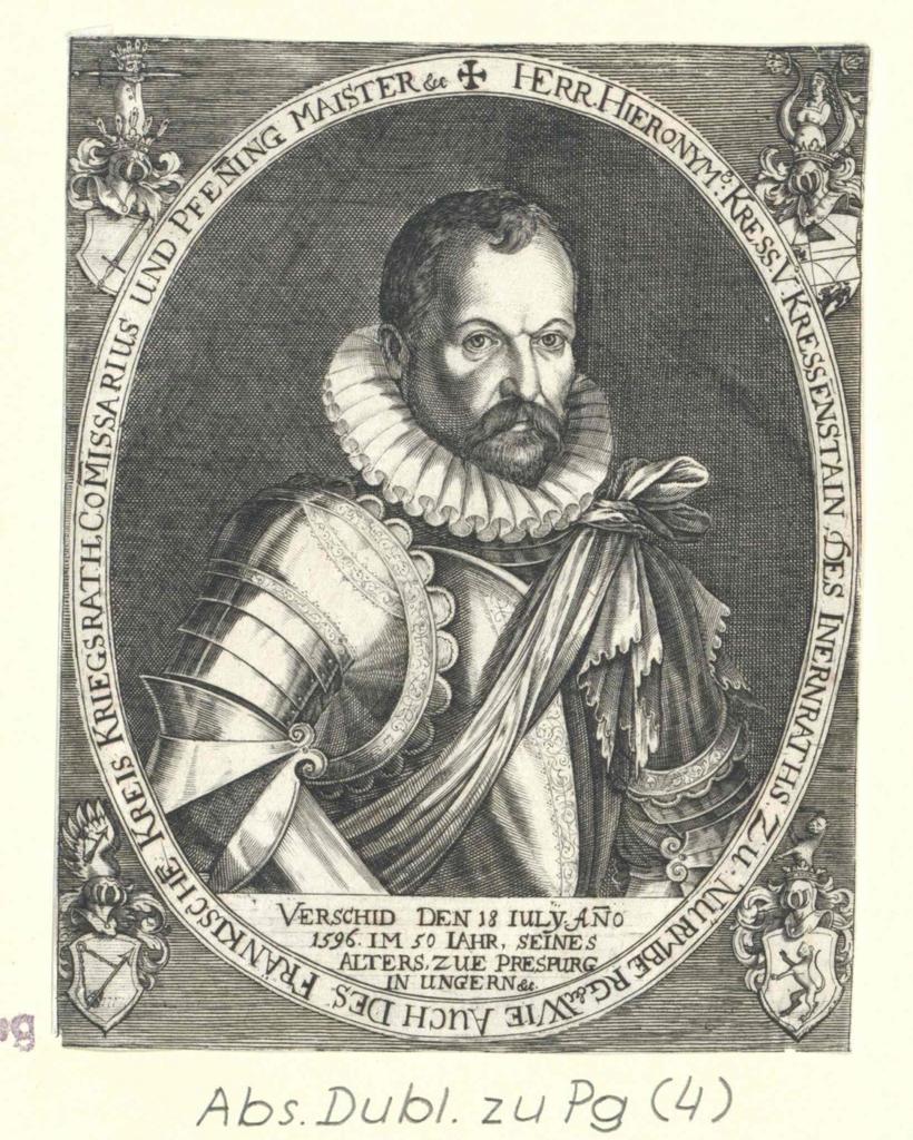 Kress-Kressenstein, Hieronymus von