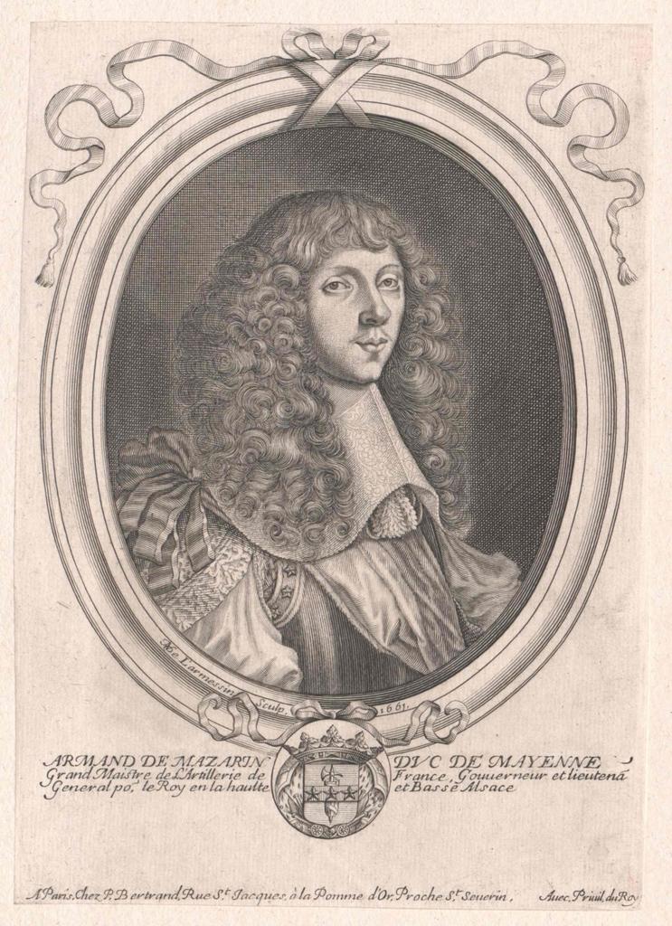 La Porte de La Meilleraye, Duc de Mayenne et de Mazarin, Armand Charles de