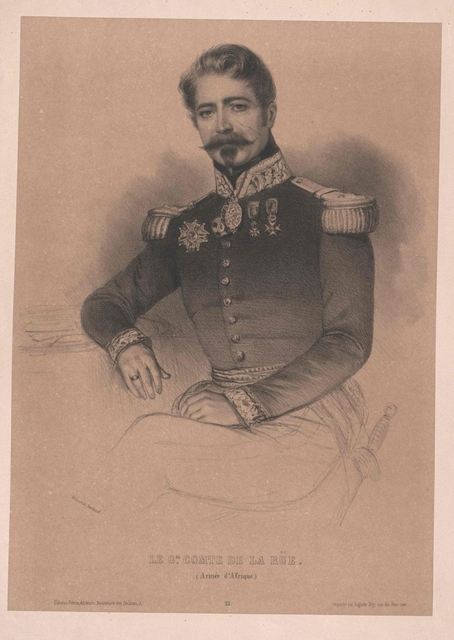 La Rue, Jean Marie Aristide Isidore Comte de