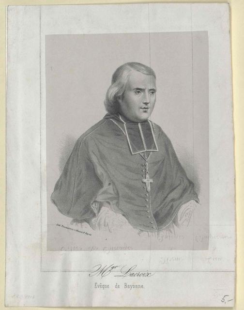 Lacroix, Francois Bischof von Bayonne
