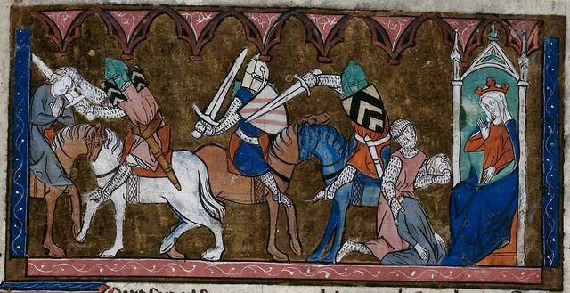 Lancelot from BL Royal 20 D IV, f. 260