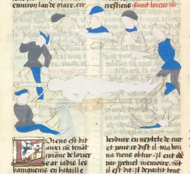 Laurence from BL YT 49, vol. 2, f. 39v