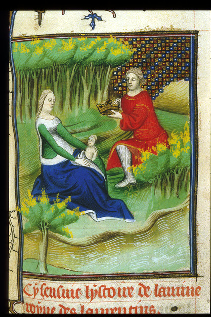 Lavinia from BL Royal 20 C V, f. 64v