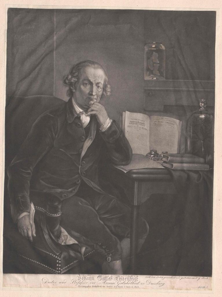 Leidenfrost, Johann Gottlob
