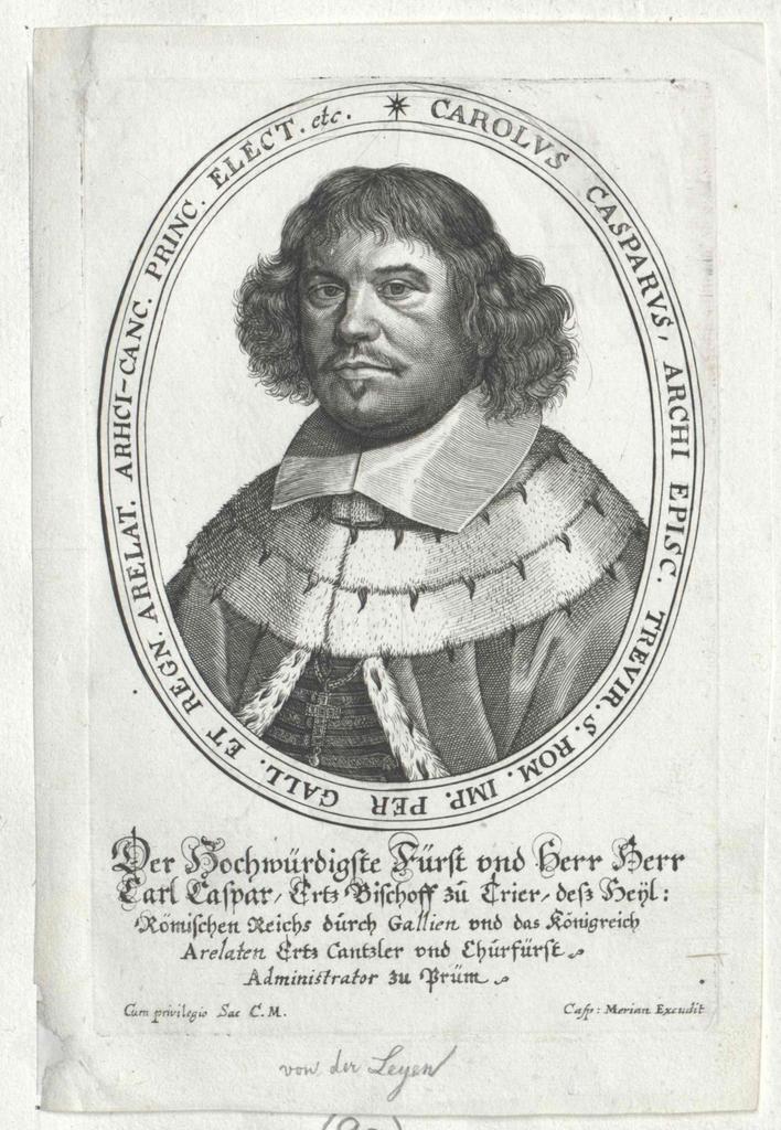 Leyen, Karl Kaspar von der