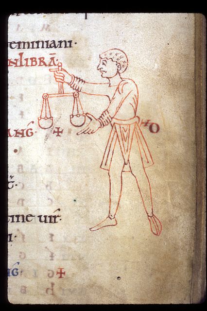 Libra from BL Arundel 60, f. 6