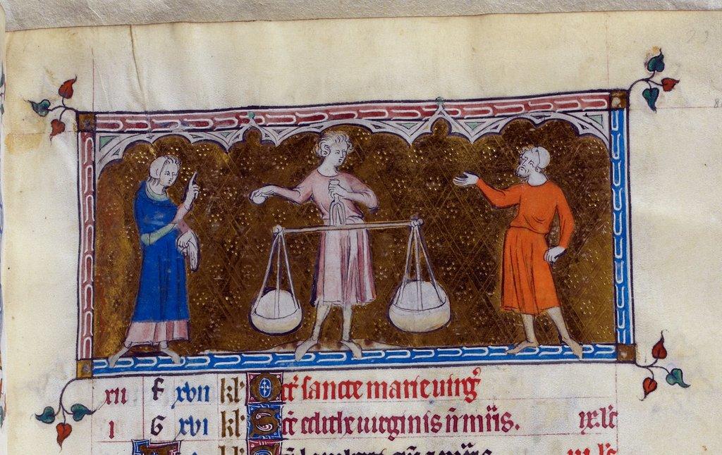 Libra from BL Royal 2 B VII, f. 80