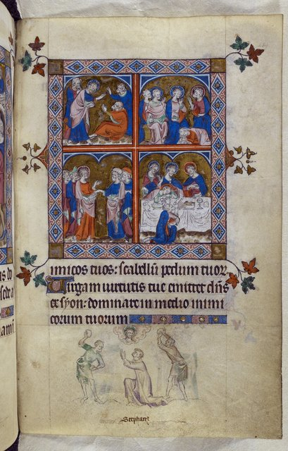 Life of Christ from BL Royal 2 B VII, f. 234