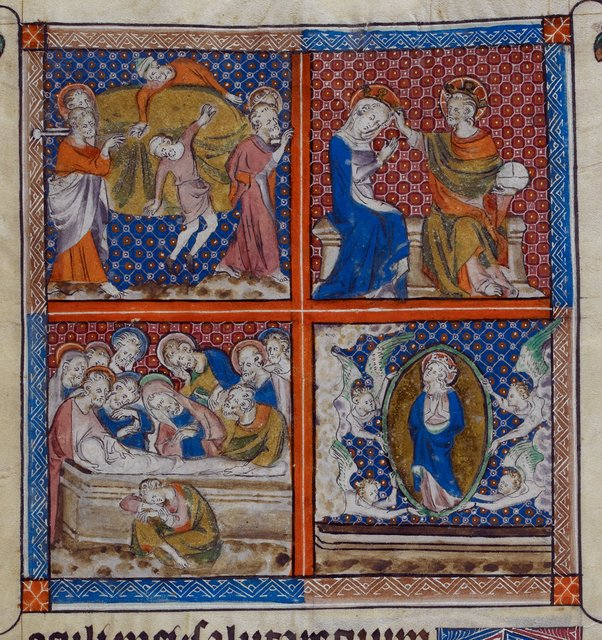 Life of Mary from BL Royal 2 B VII, f. 298