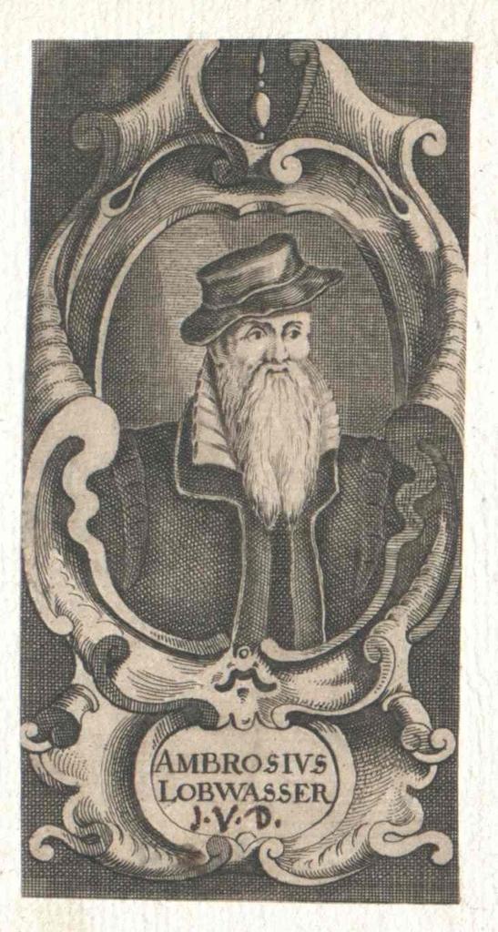 Lobwasser, Ambrosius
