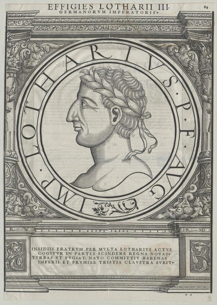 Lothar I., römischer Kaiser